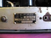 VE301 Dyn W Tefag
