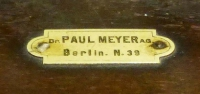 Amperemeter Paul Meyer Berlin N39