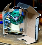 Pappschachtel Radio